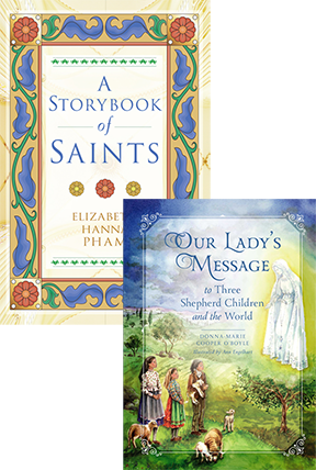 A Storybook of Saints Set book cover