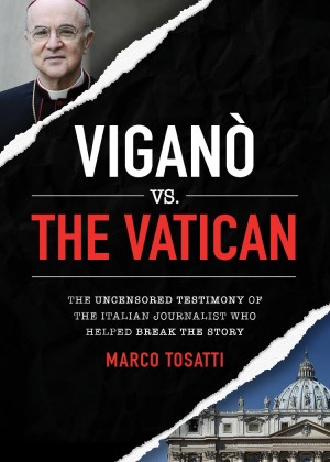 Vigano vs the Vatican book cover
