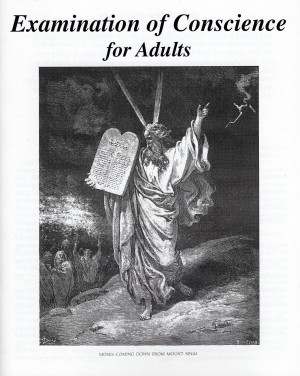 Examination of Conscience for Adults book cover