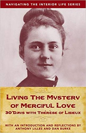 Living the Mystery of Merciful Love book cover